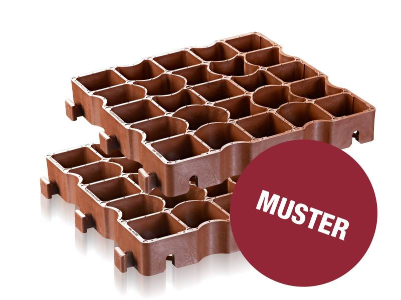 Musterpaket ECORASTER TE50 – Belastungsgitter
