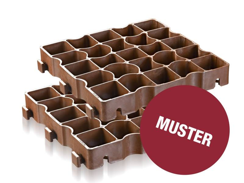 Musterpaket ECORASTER TS50 – Turnier Reitplatzgitter